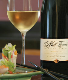 Mill Creek wine and food pairing